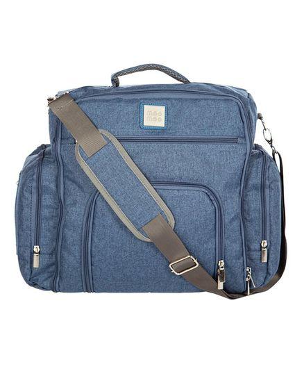 Mee Mee Backpack Style Diaper Bag - Blue