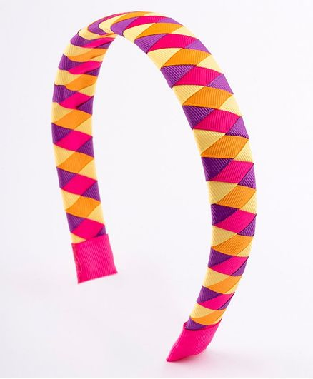 Ribbon Candy Woven Hairband Orange for Girls (2-12 Years) Online ... d7f6d7c2a73