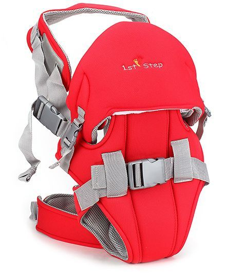 1st Step 2 In 1 Baby Carrier - Red