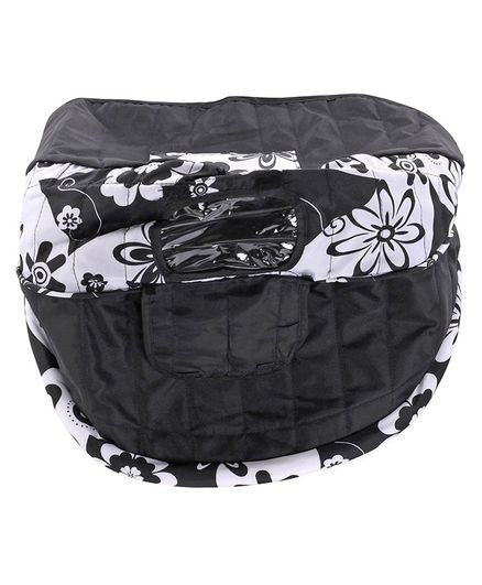 Baby Gear Babyhug-SpareParts black & white Cosy Cosmo Fabric