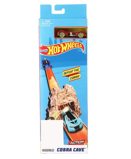 Hot Wheels Cobra Cave Toy Car - Red