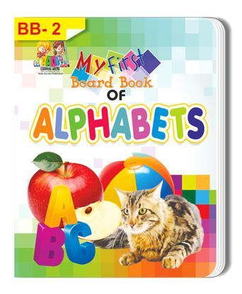 Alphabets Themed Board Book - English
