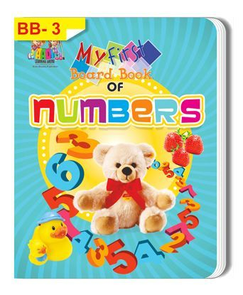 My First Board Book of Numbers - English