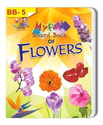 My First Board Book of Flowers - English