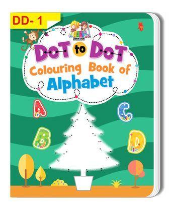 Dot To Dot Alphabet Colouring Book - English