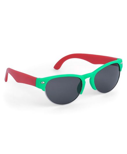 Babyhug Wayfarer Kids Sunglasses - Green Red