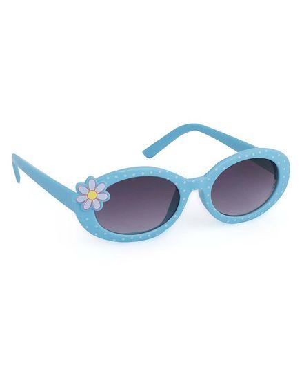 Babyhug Kids Sunglasses Flower Design - Blue