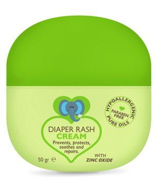 Bebe Nature Natural Diaper Rash Cream - 50gm