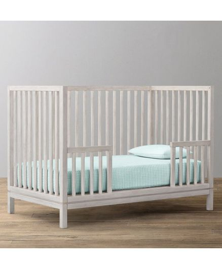 The Baby Atelier Fitted Check Crib Sheet - Blue