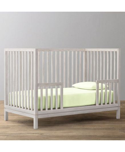 The Baby Atelier Fitted Crib Sheet - Light Green