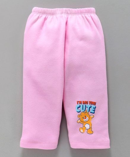 Tango Full Length Lounge Pant Cute Print - Pink