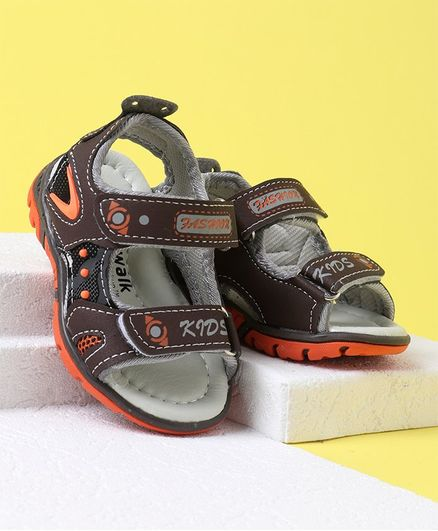 Cute Walk by Babyhug Sandals - Brown