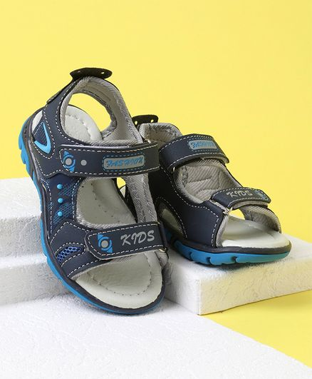 Cute Walk by Babyhug Sandals - Dark Blue