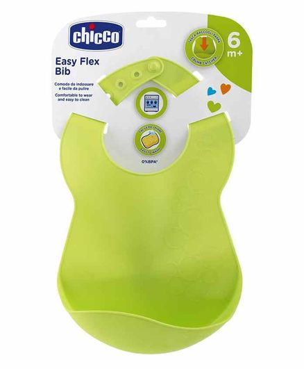 Chicco Easy Flex Bib - Green