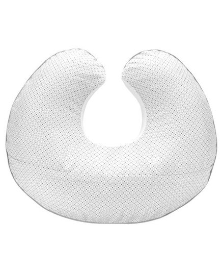 Chicco Boppy Pillow Mod Geo Design - White