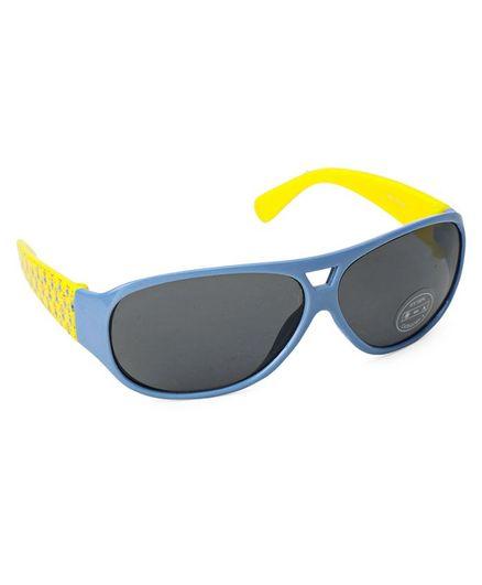 Minions Oval shape Sunglasses - Blue & Yellow