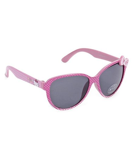ded04264a1 Hello Kitty Wayfarer Sunglasses Bow Applique Pink for Girls (3-10 ...