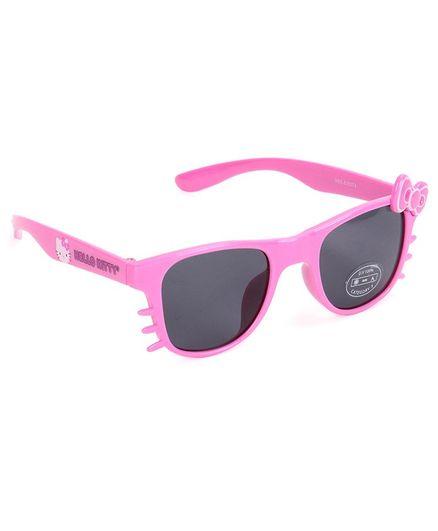 Hello Kitty Wayfarer Sunglasses Bow Applique - Pink