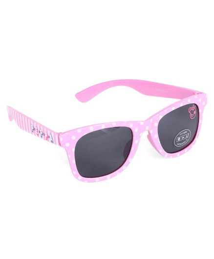 Peppa Pig Polka Dot Print Wayfarer Sunglasses - Light Pink