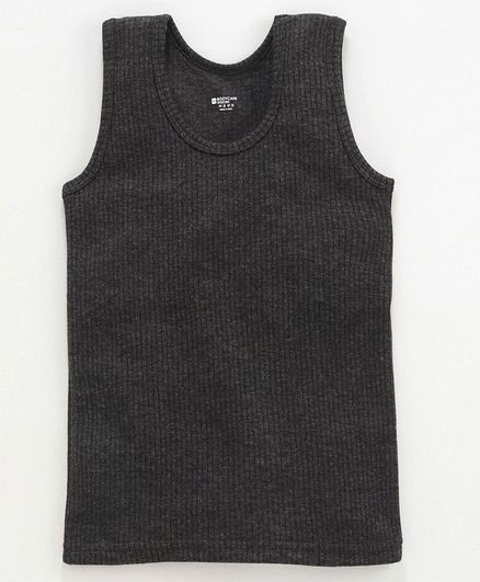 Bodycare Sleeveless Thermal Vest - Dark Grey