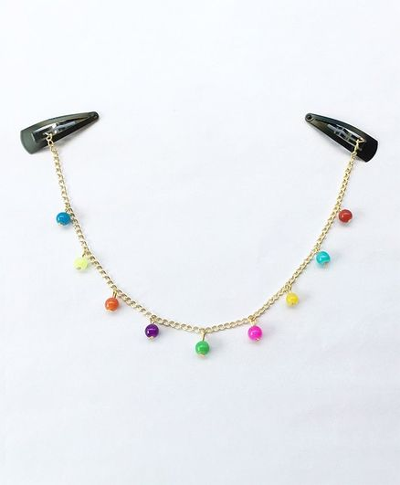 Lime By Manika Crown Chain - Multicolor