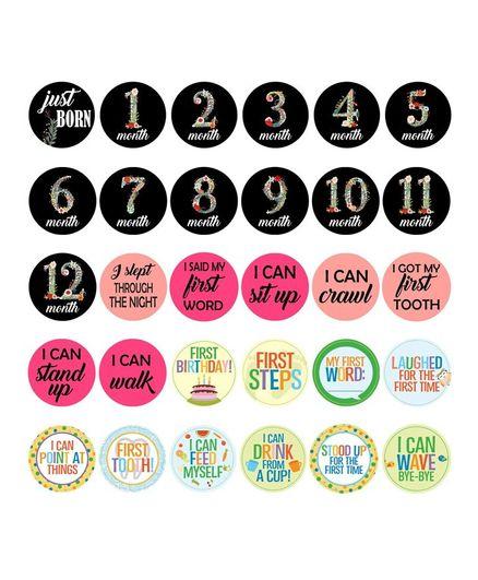Party Propz Milestone Card Multicolour - 30 Pieces