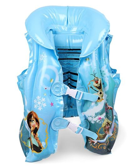 Disney Frozen Sisters Inflatable Swimming Vest - Blue