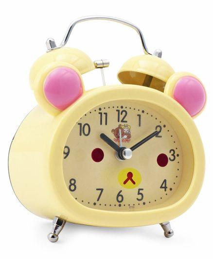 Dual Bell Alarm Clock - Beige