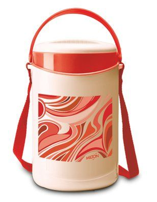 Milton Econa Lunch Box With 4 Steel Containers - Red
