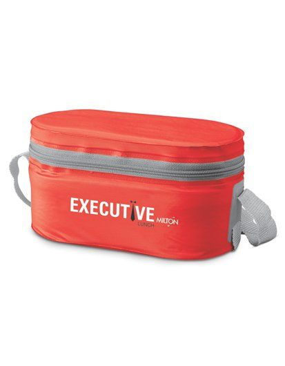 Milton Executive Lunch Box Set - Red