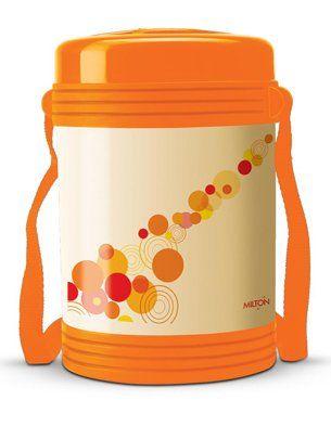Milton Tiffin With Four Containers Orange - 240 ml