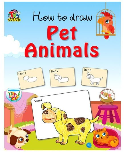 How To Draw Pet Animals - English