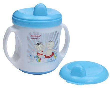 Morisons Baby Dreams - Poochie Feeding Cup Blue - 180 ml