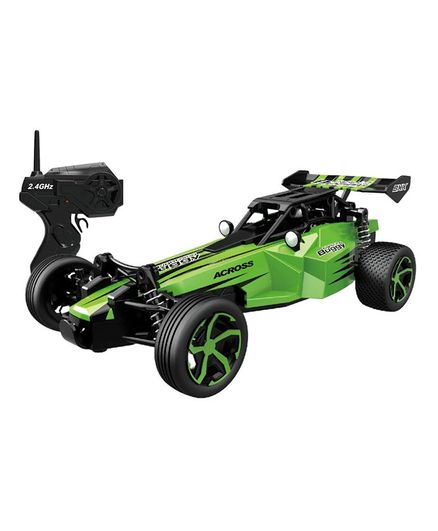 Webby Remote Control Short Course Racing Car - Green
