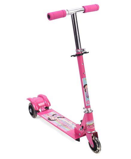 Chutki 3 Wheel Metal Scooter - Pink