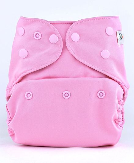 Bumberry Diaper Cover With Attached Insert - Pink