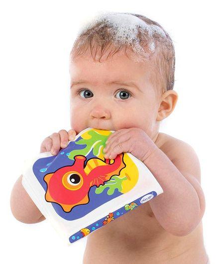 Playgro Bath Time Splash Book - Multicolour