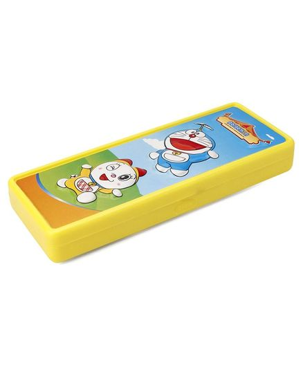 Doraemon 2D Pencil Box - Yellow