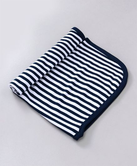 Simply Striped Towel - Navy