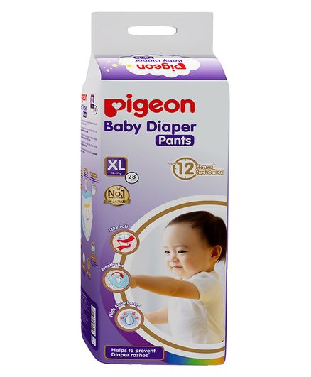 Pigeon Ultra Premium Extra Large Size Baby Diaper Pants - 28 Pieces