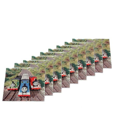 Funcart Thomas & Friends Themed Paper Napkins Set of 9 - Multicolour
