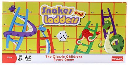 Funskool Snakes And Ladders Board Game