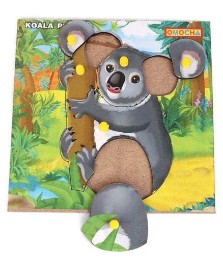 Playmate Koala Knob Puzzle - Multi Colour