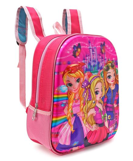 School Bag Girls Print Pink 125 Inches Online In India Buy At Best
