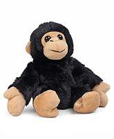 Wild Republic Hugger Chimp Plush Toy Black - Length 22.5 cm