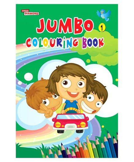 Jumbo Colouring Book 01 - English