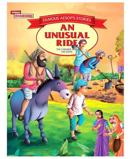 Aesops Fable Stories An Unusual Ride - English