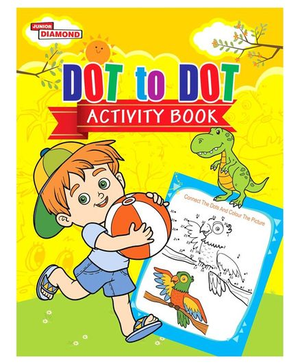 Dot To Dot Activity Book - English