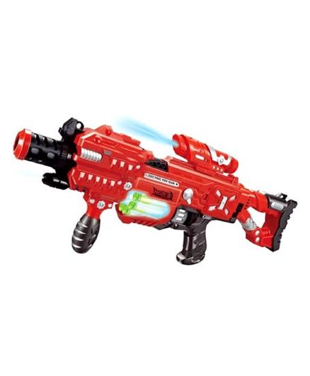 Emob Soft Bullet Blaze Storm Gun With Light Red - Length 58 cm