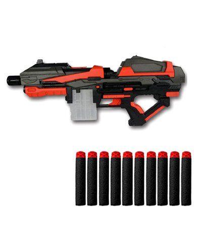 Emob High Speed Soft Bullet Dart Gun - Black